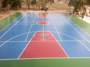สีสนามกีฬา